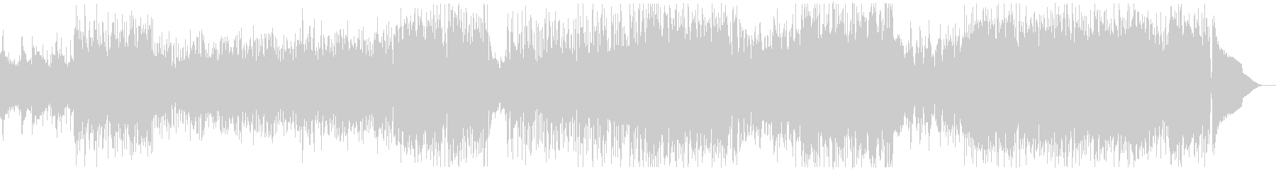 ケルト要素の入ったアコースティックロックの未再生の波形