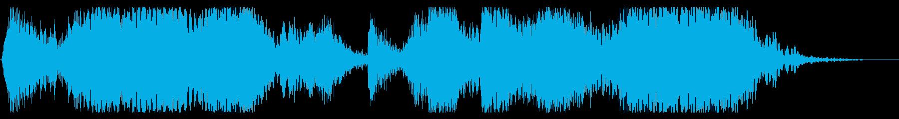スクラッチ/DJの効果音!10の再生済みの波形