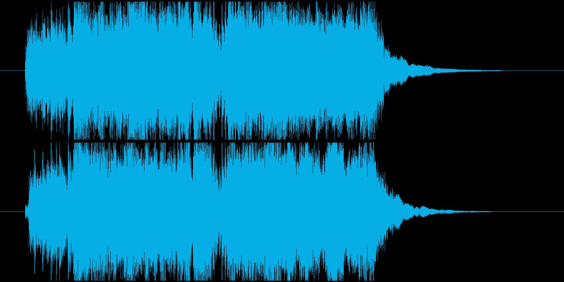 カッコイイジングル、勝利やオープニングの再生済みの波形