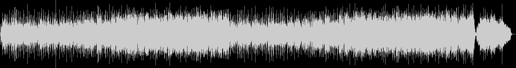 琴と尺八と鼓による和風ポップバラードの未再生の波形
