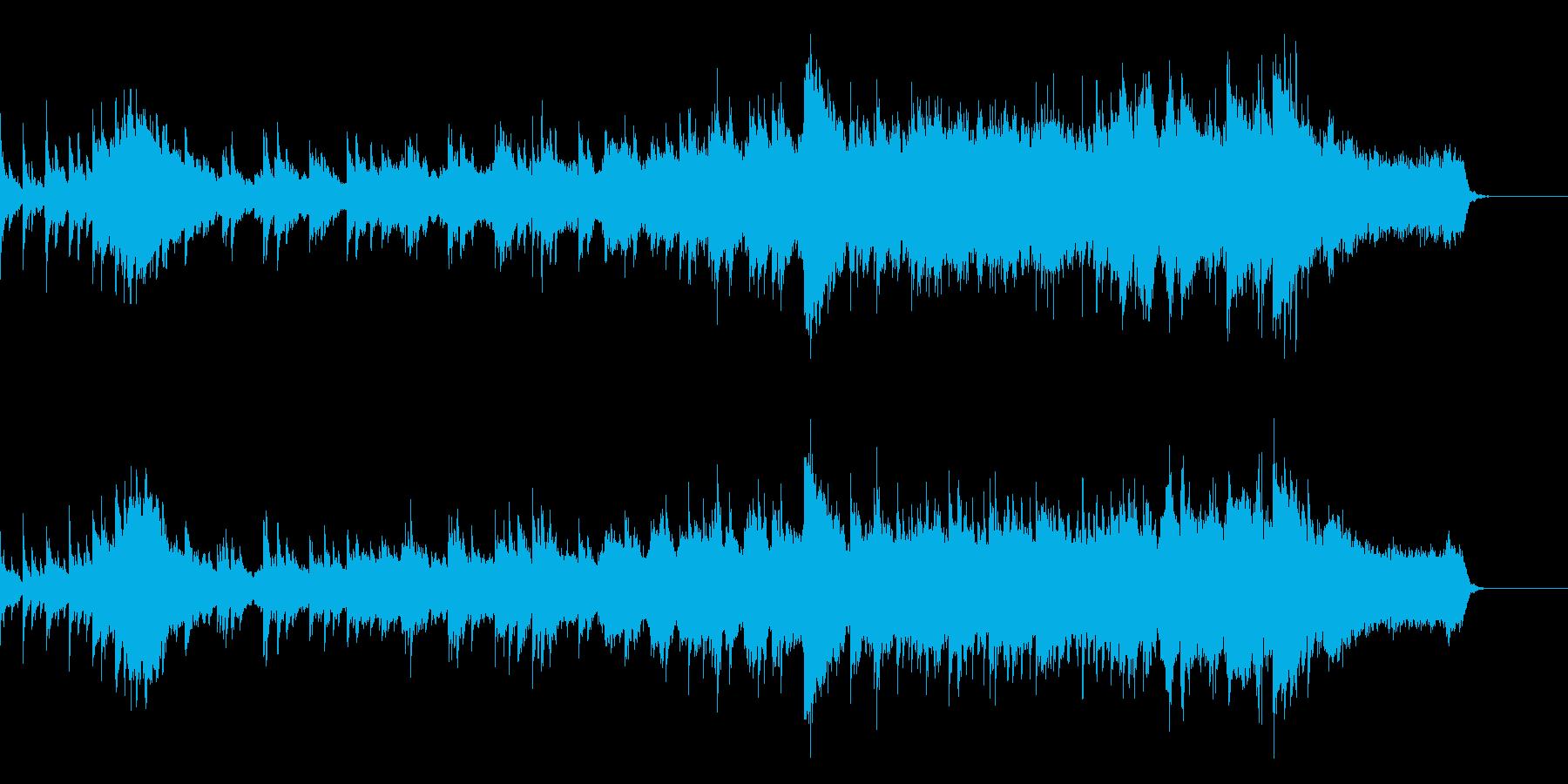 物語のエンディングに適したオーケストラの再生済みの波形