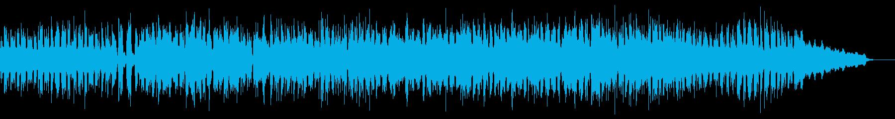 ゲームやビーチのシーンに使えるボサノバの再生済みの波形