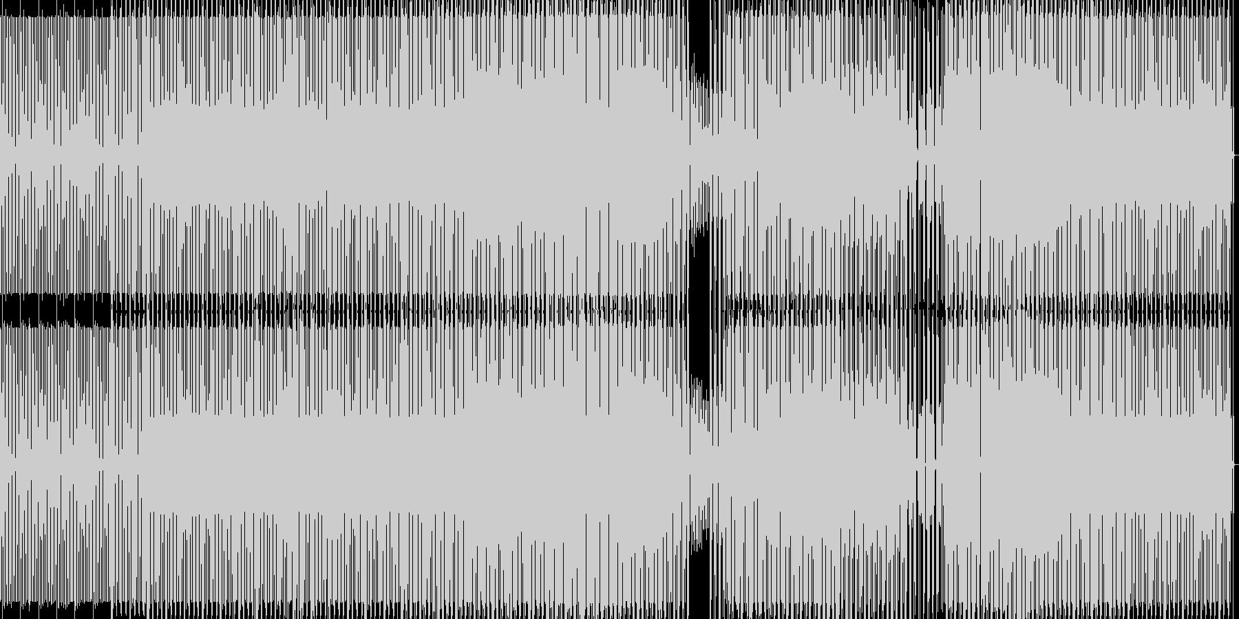 deepなミニマルハウスの未再生の波形