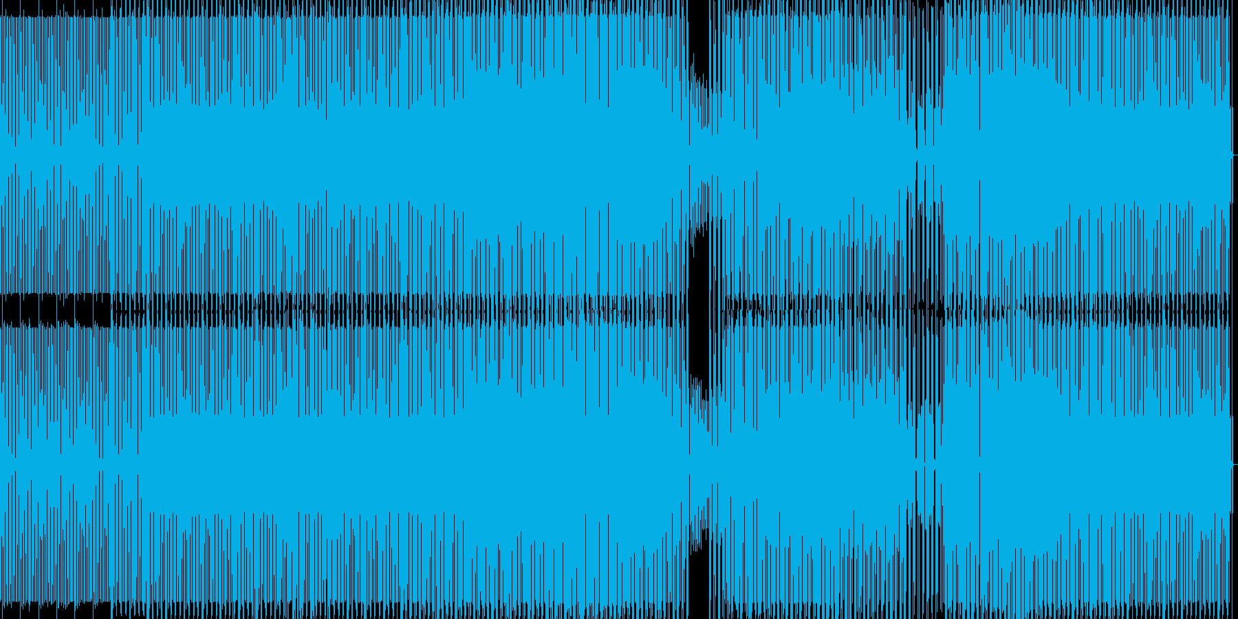 deepなミニマルハウスの再生済みの波形
