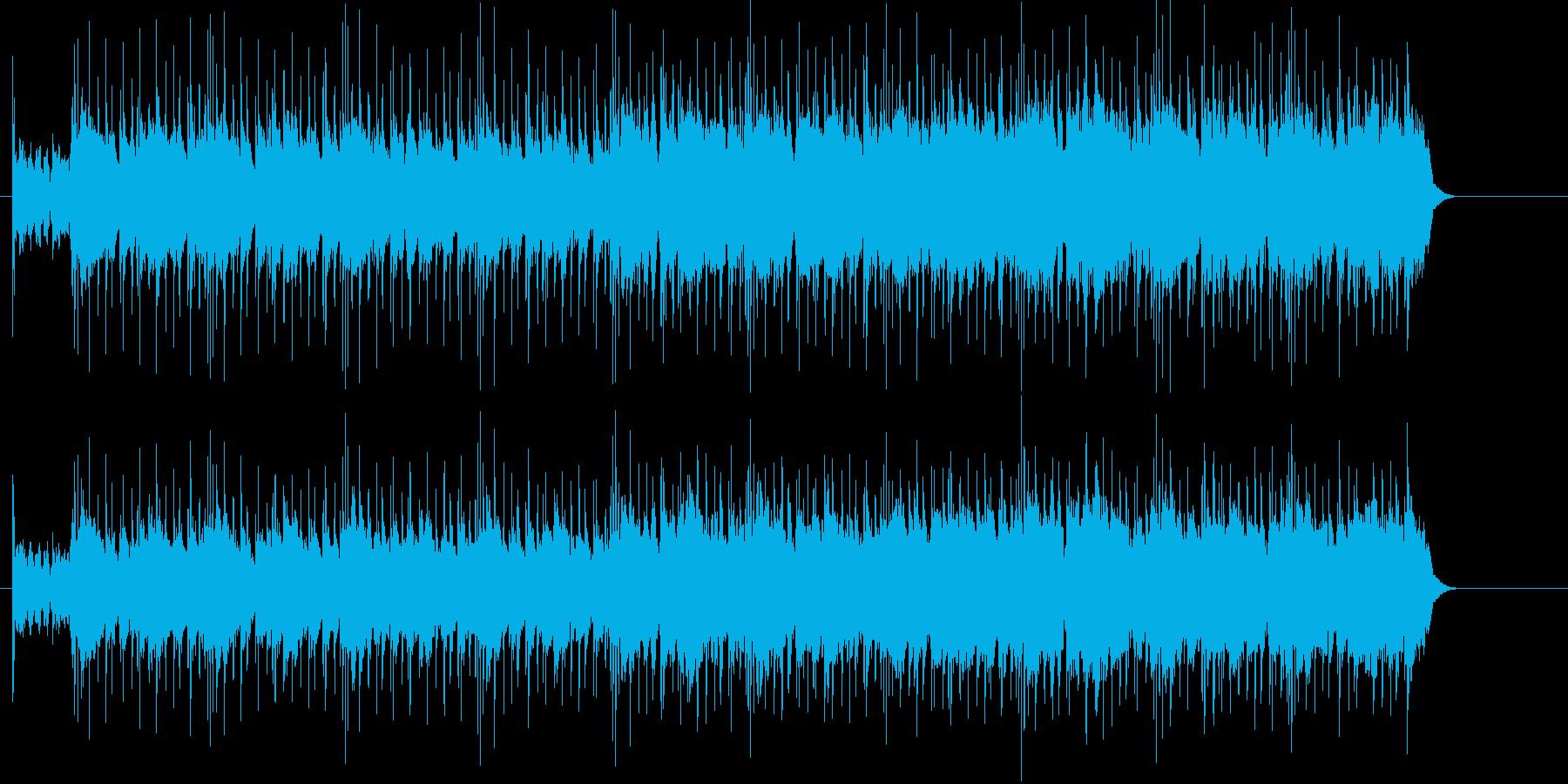 ブルース・マインドのある切れ味鋭いギターの再生済みの波形