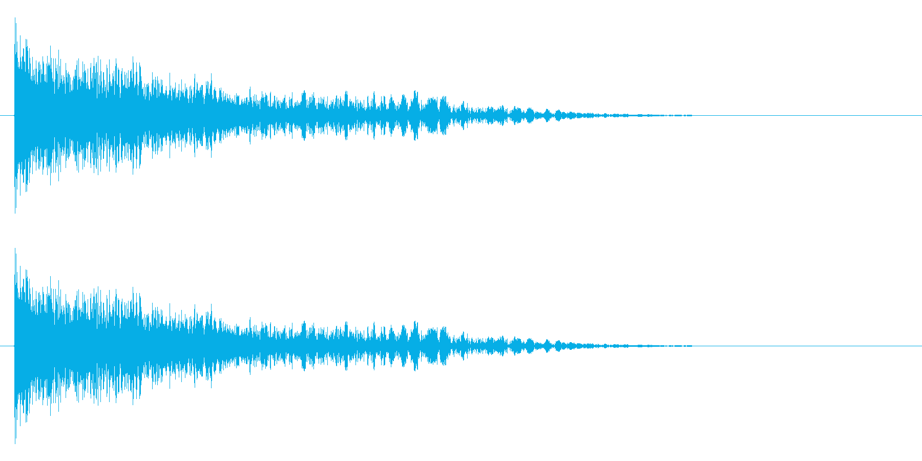 ドーン+バシューン(撃破/消滅/倒す)の再生済みの波形