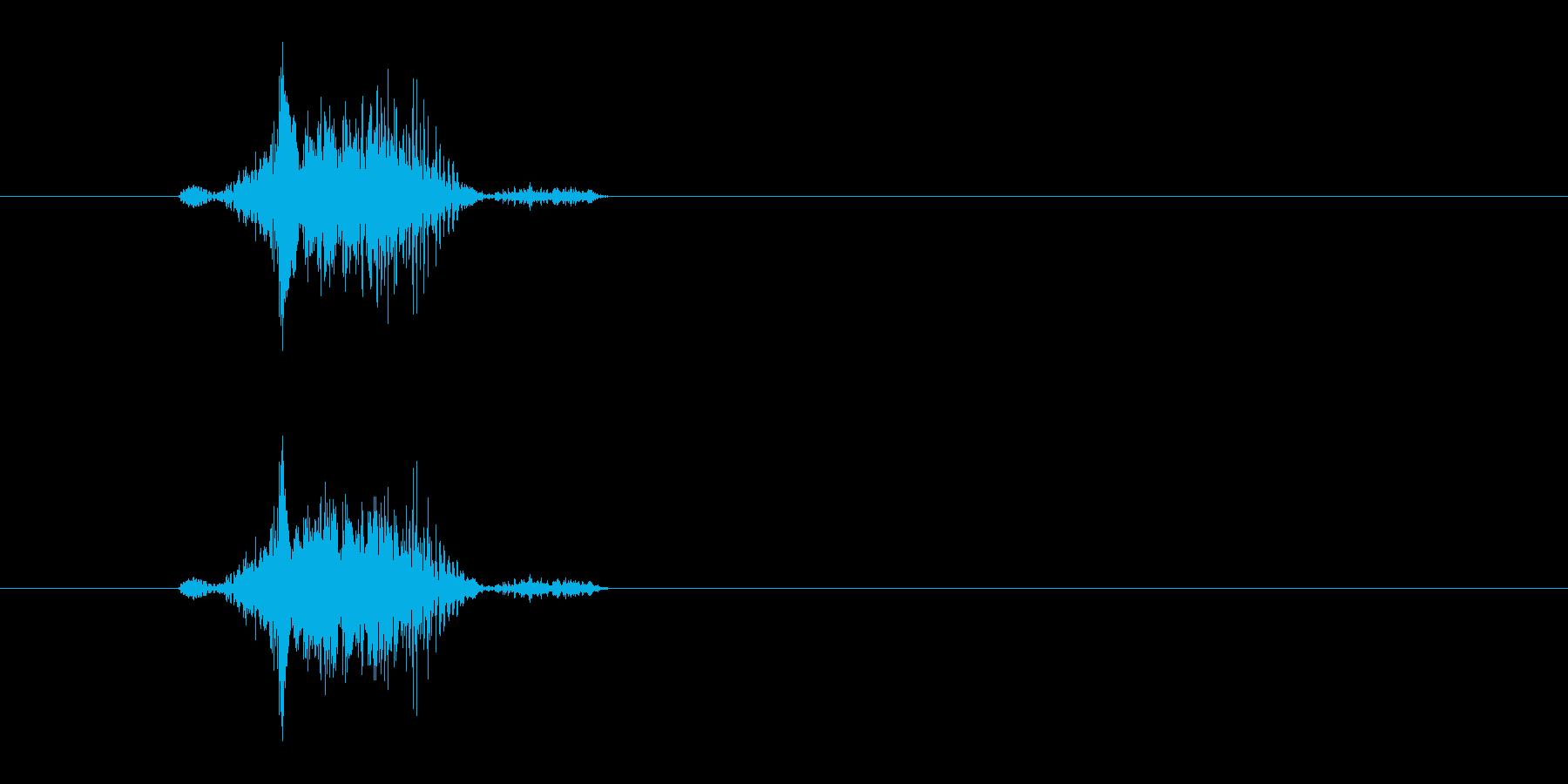 Breakの再生済みの波形