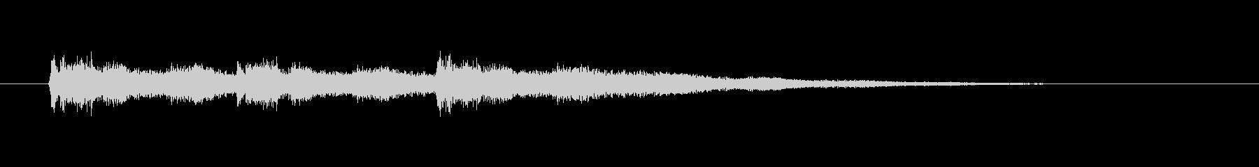 【競技用ゴング02-2】の未再生の波形