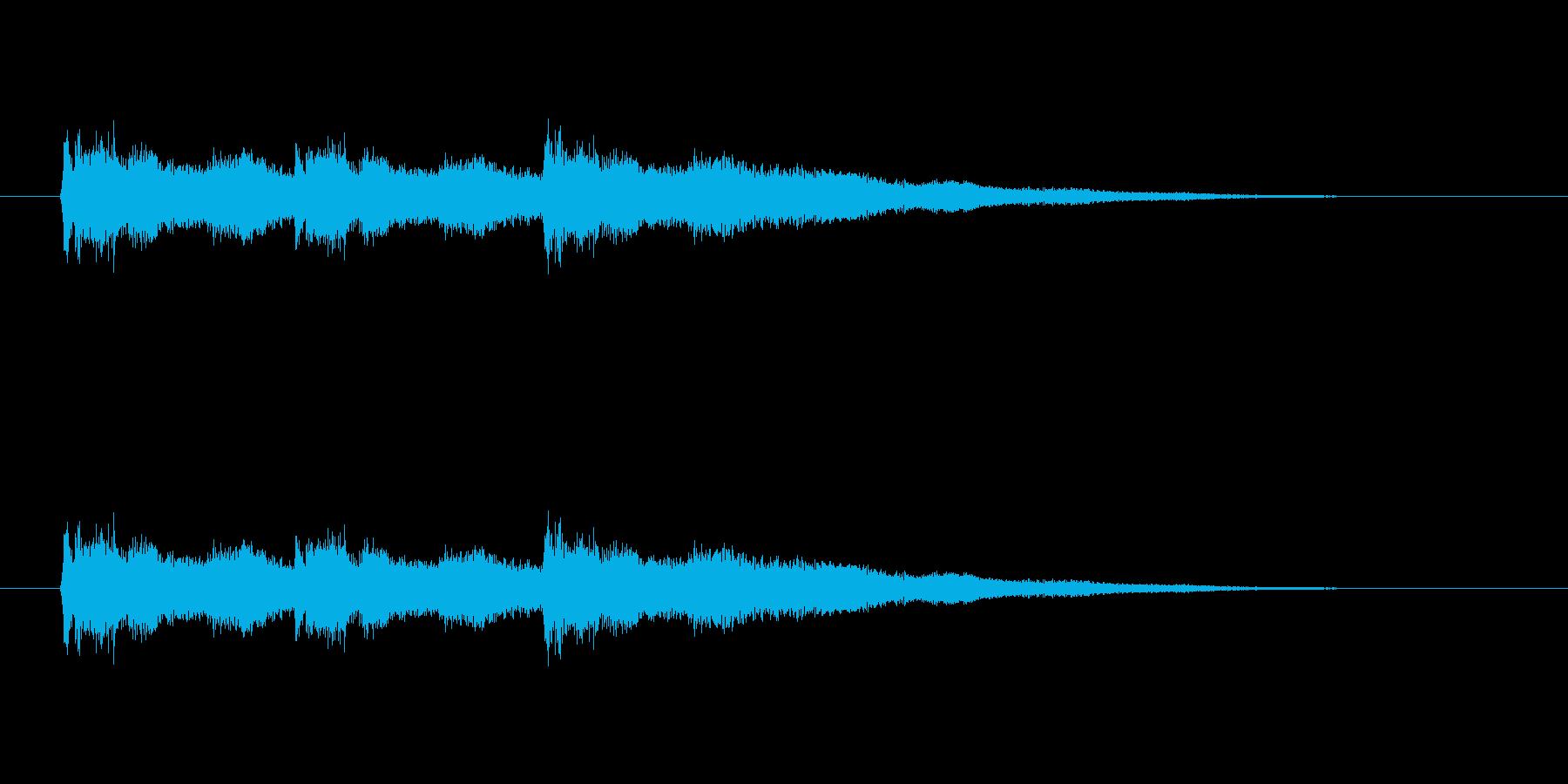【競技用ゴング02-2】の再生済みの波形