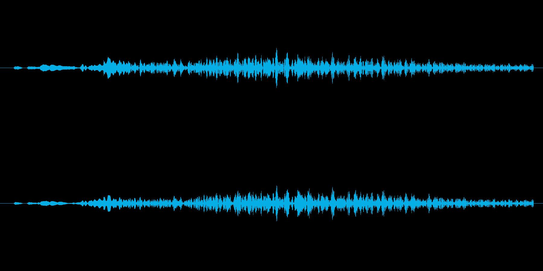 ちゃらーん マリンバでグリスの再生済みの波形