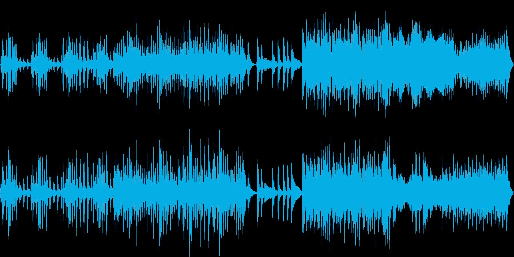 爽やかで軽やかなオーケストラ(ループ可)の再生済みの波形