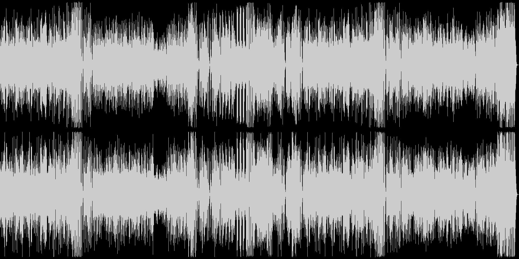 18世紀古典派音楽の様式のピアノソナタ…の未再生の波形