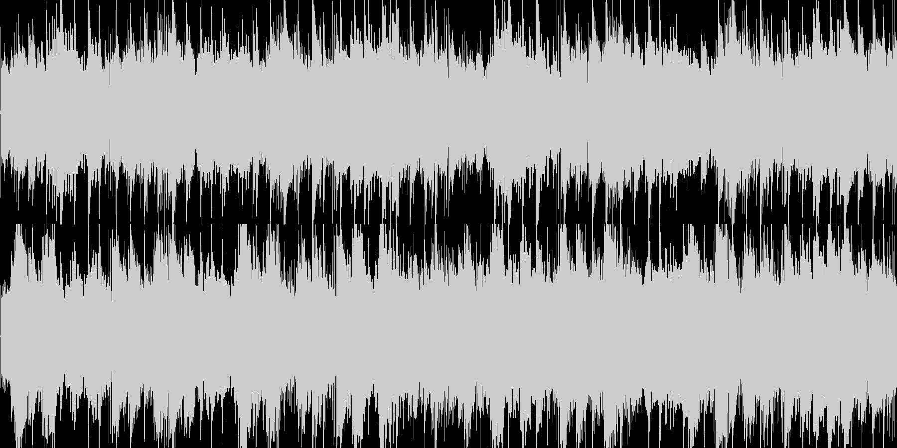 スローで癒しのアコギサウンドの未再生の波形