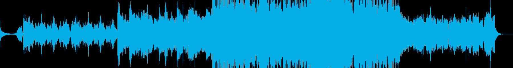 癒しの和風バラードの再生済みの波形