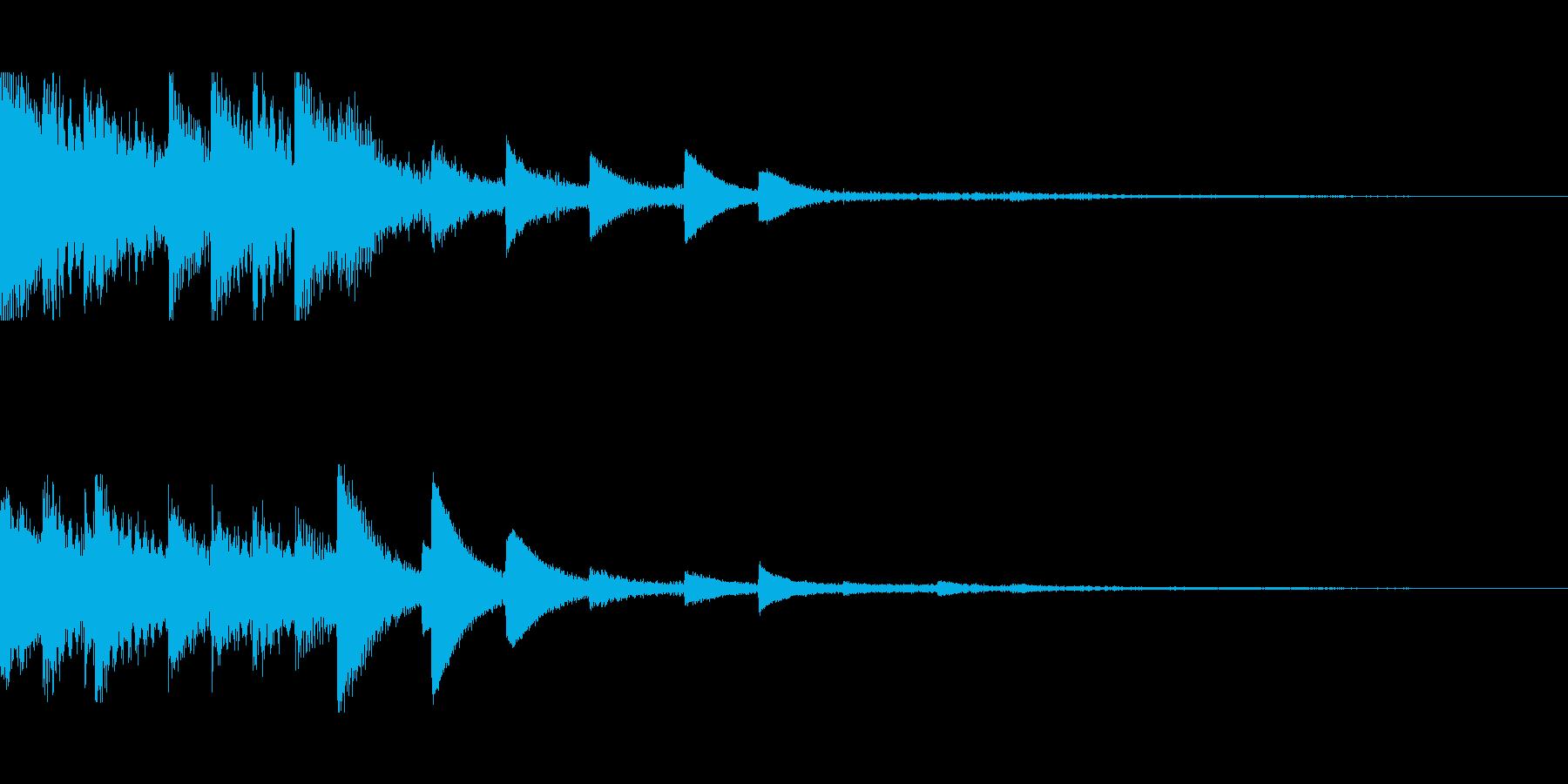 [ティロリン]スキルUP(可愛く軽やか)の再生済みの波形