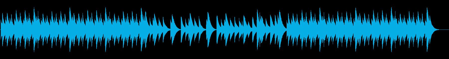 動物ドキュメンタリーでかかるBGMの再生済みの波形