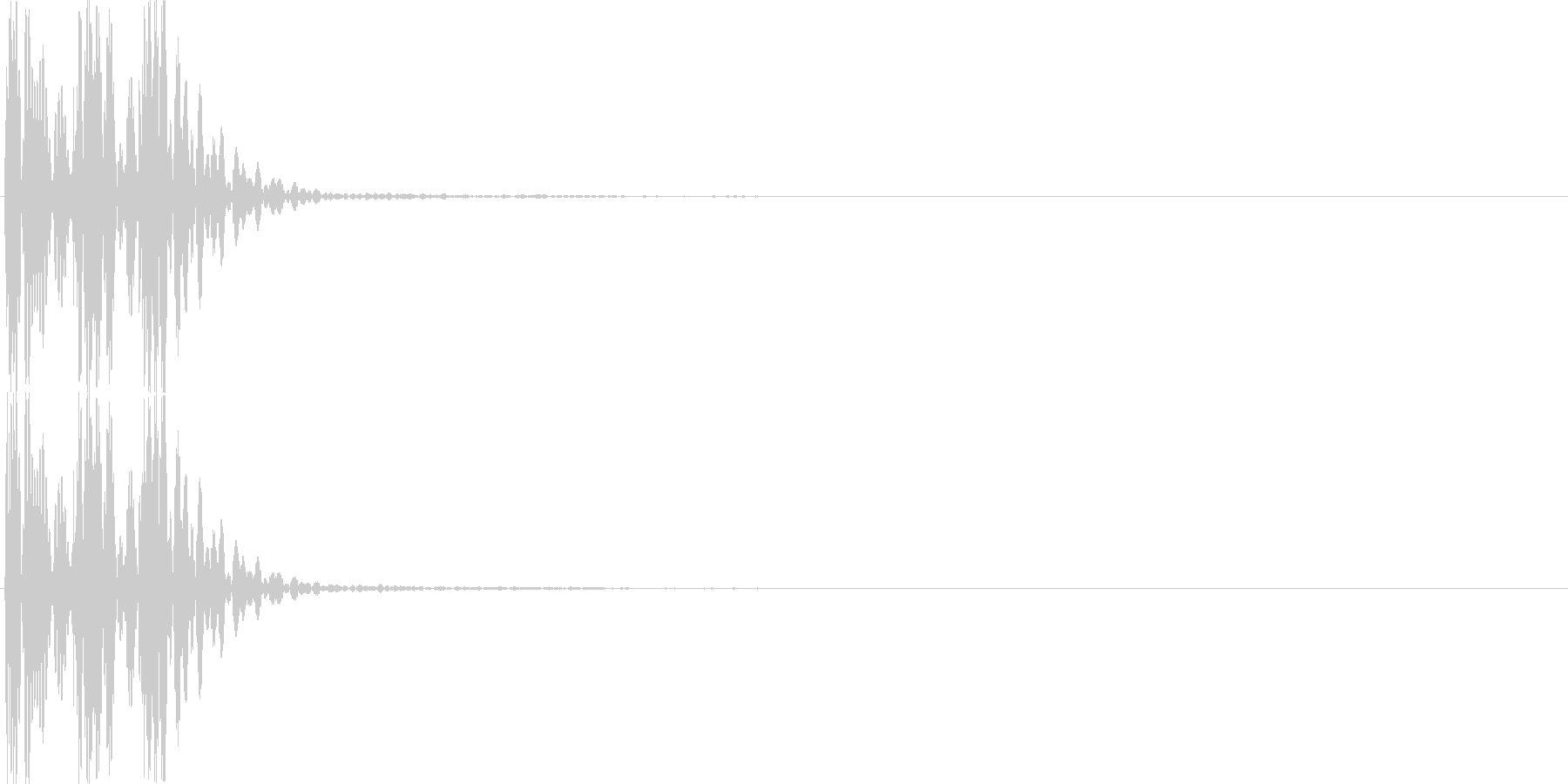 クリック(ゲーム、アプリ等の操作音01)の未再生の波形