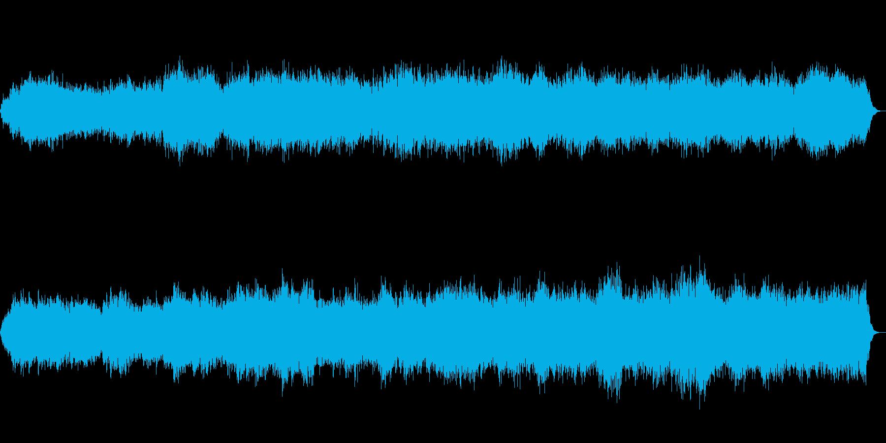 怪談等、ホラー系で効果を発揮の再生済みの波形
