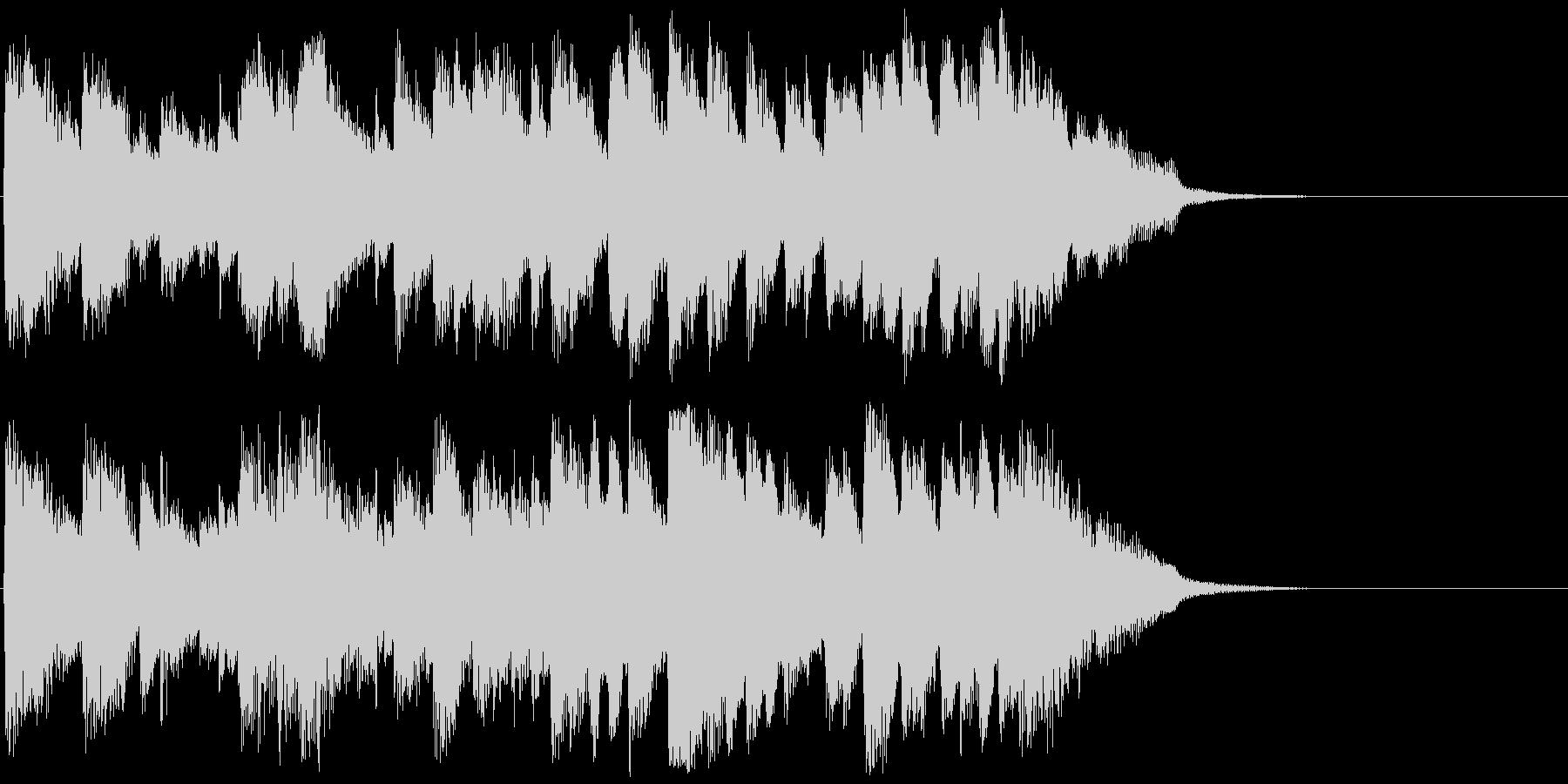 【ピアノ】バッハ風ジングル【15秒以内】の未再生の波形