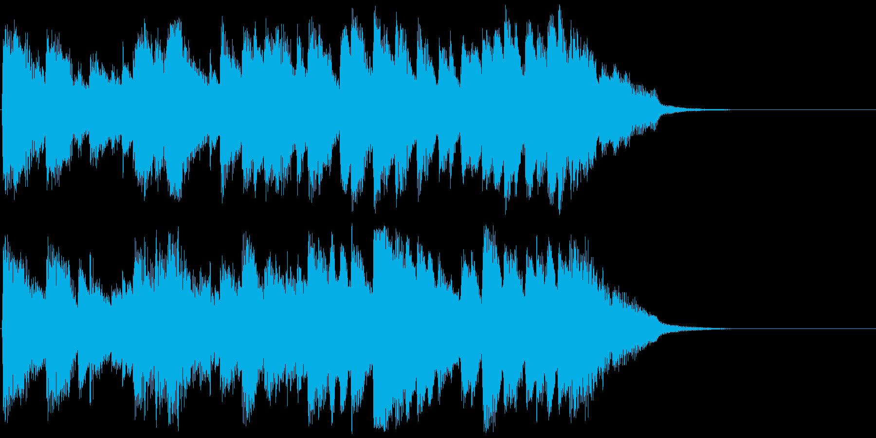 【ピアノ】バッハ風ジングル【15秒以内】の再生済みの波形