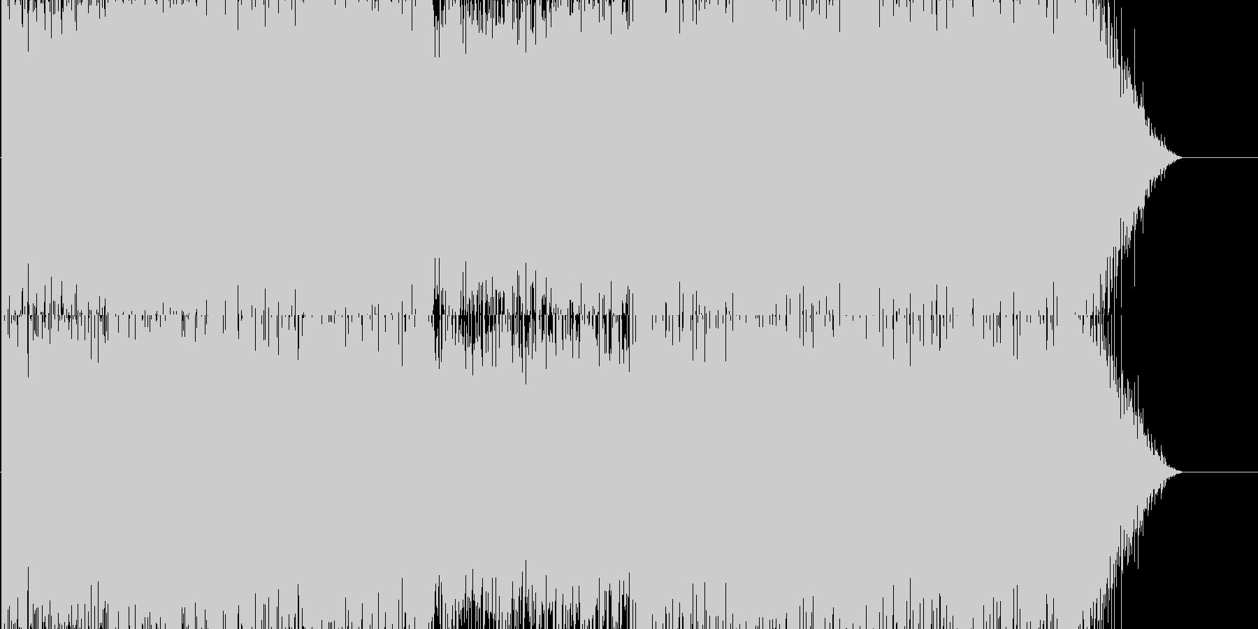 映像音楽向けピアノ・ポップ・トランスの未再生の波形