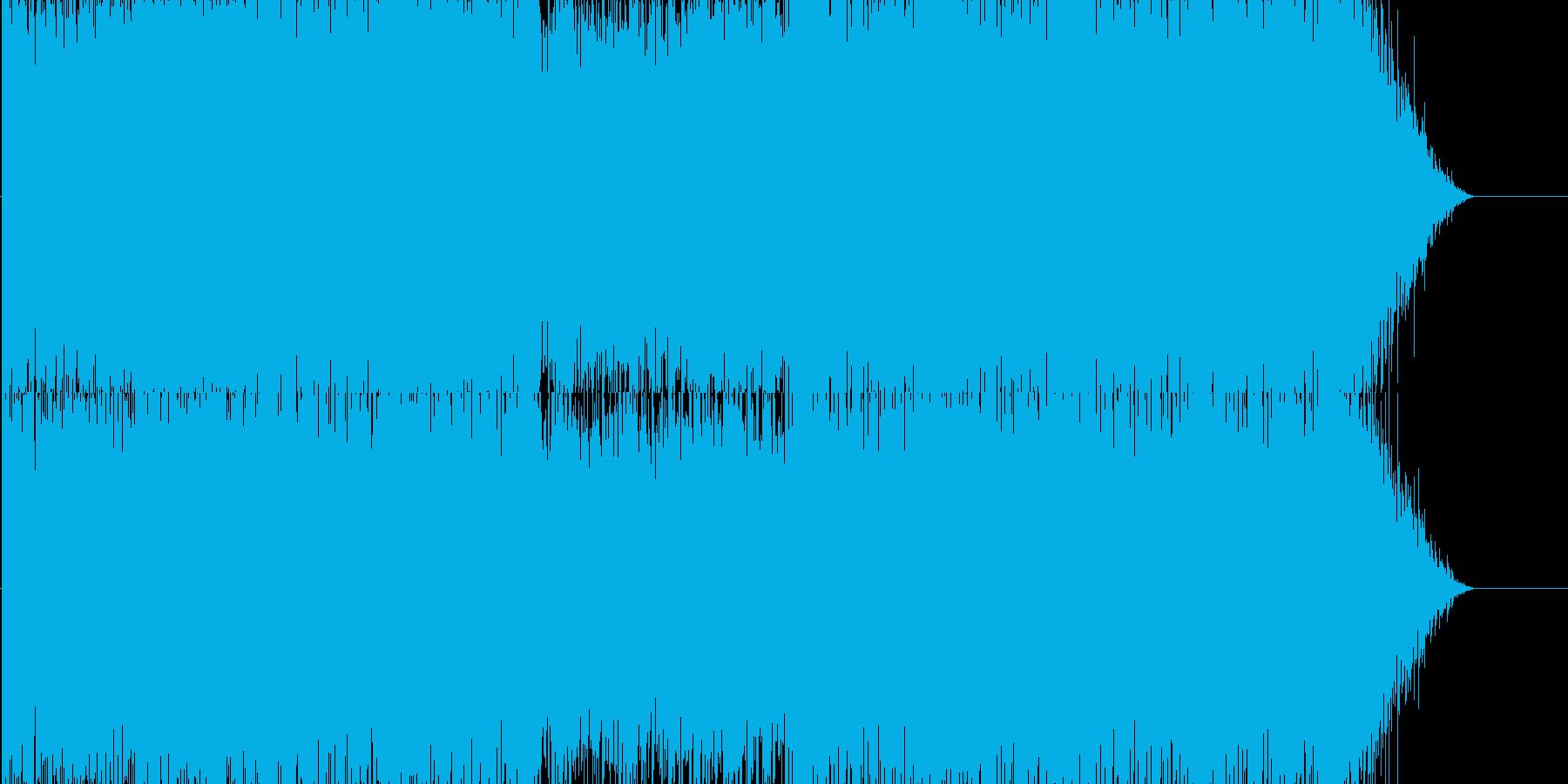 映像音楽向けピアノ・ポップ・トランスの再生済みの波形