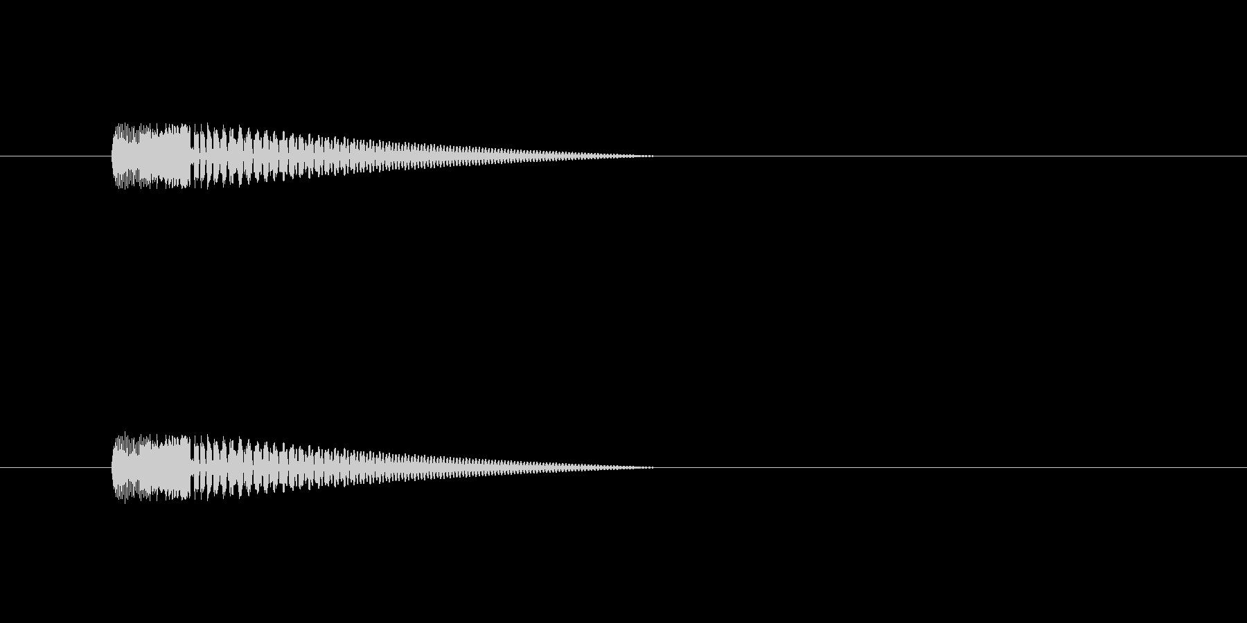 【ネガティブ06-5】の未再生の波形