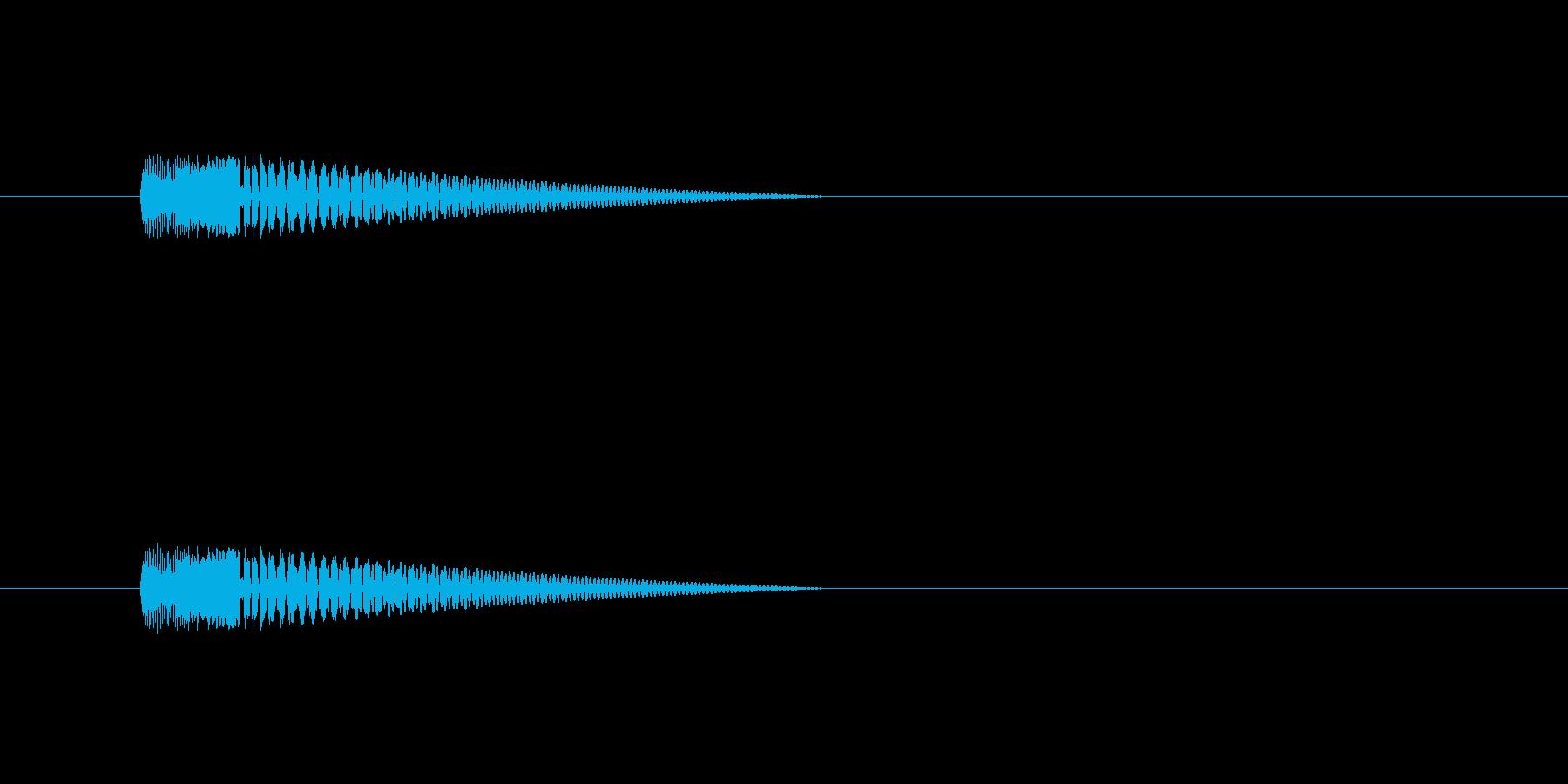 【ネガティブ06-5】の再生済みの波形