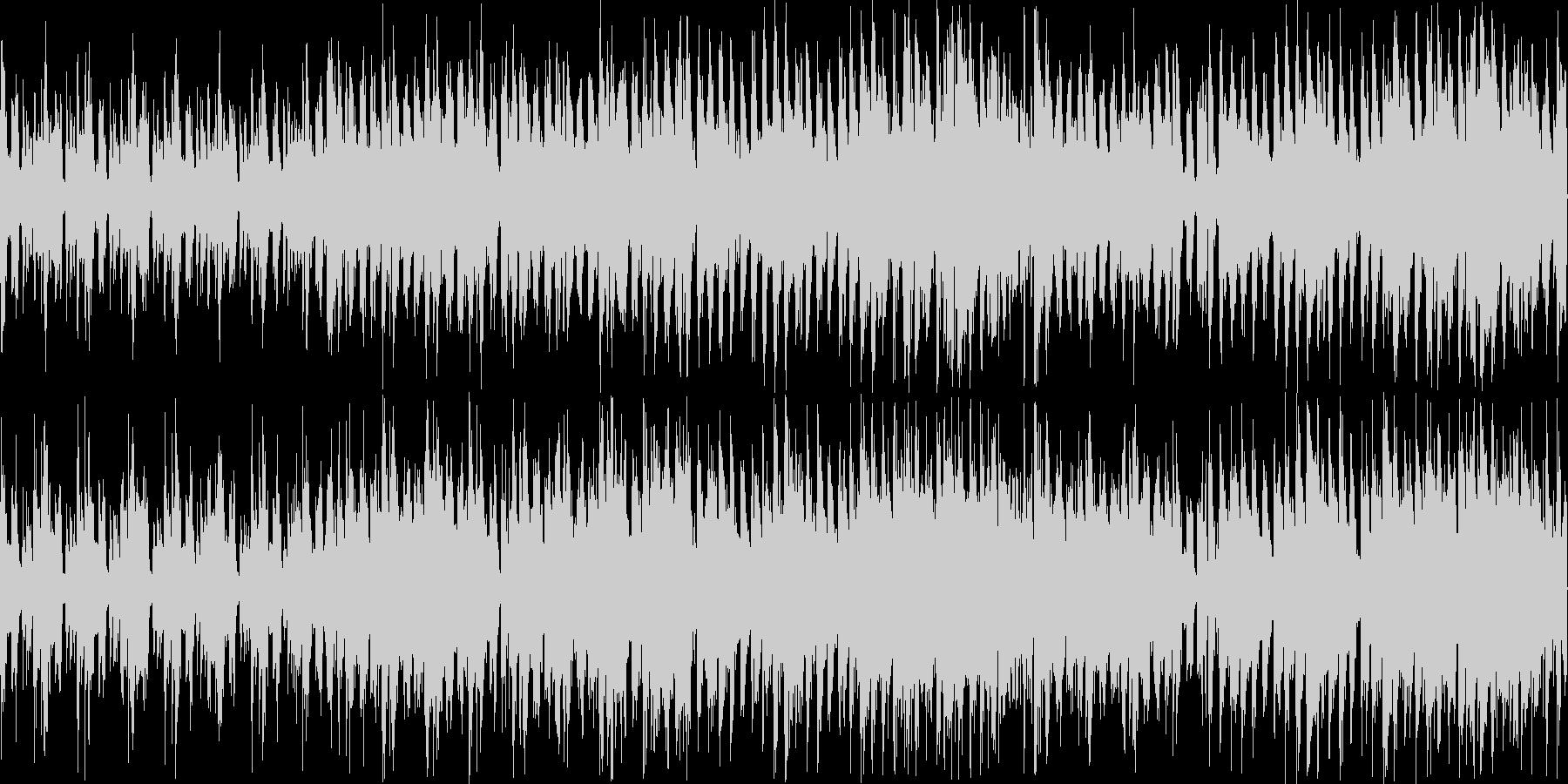 ゲームのボーナスステージやフィーバーモ…の未再生の波形