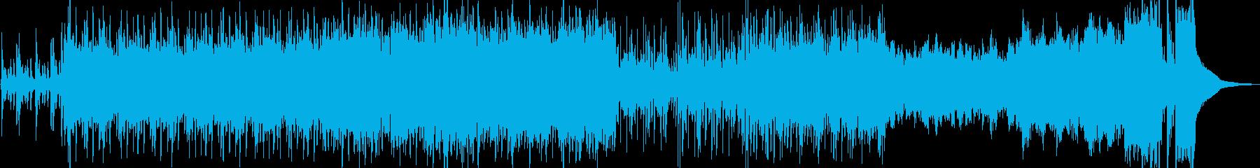 大河時代劇BGMオーケストラナレーションの再生済みの波形