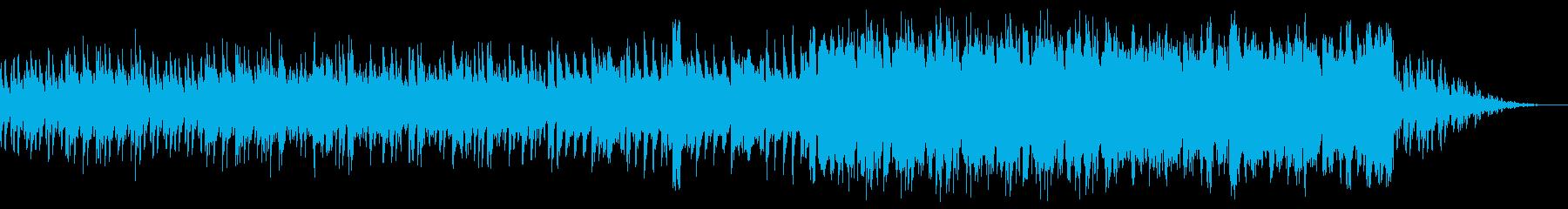 明るく楽しい場所の楽曲の再生済みの波形