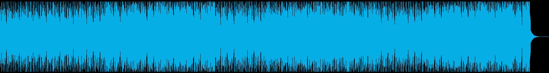 ゆったりテンポだけどスピード感の再生済みの波形