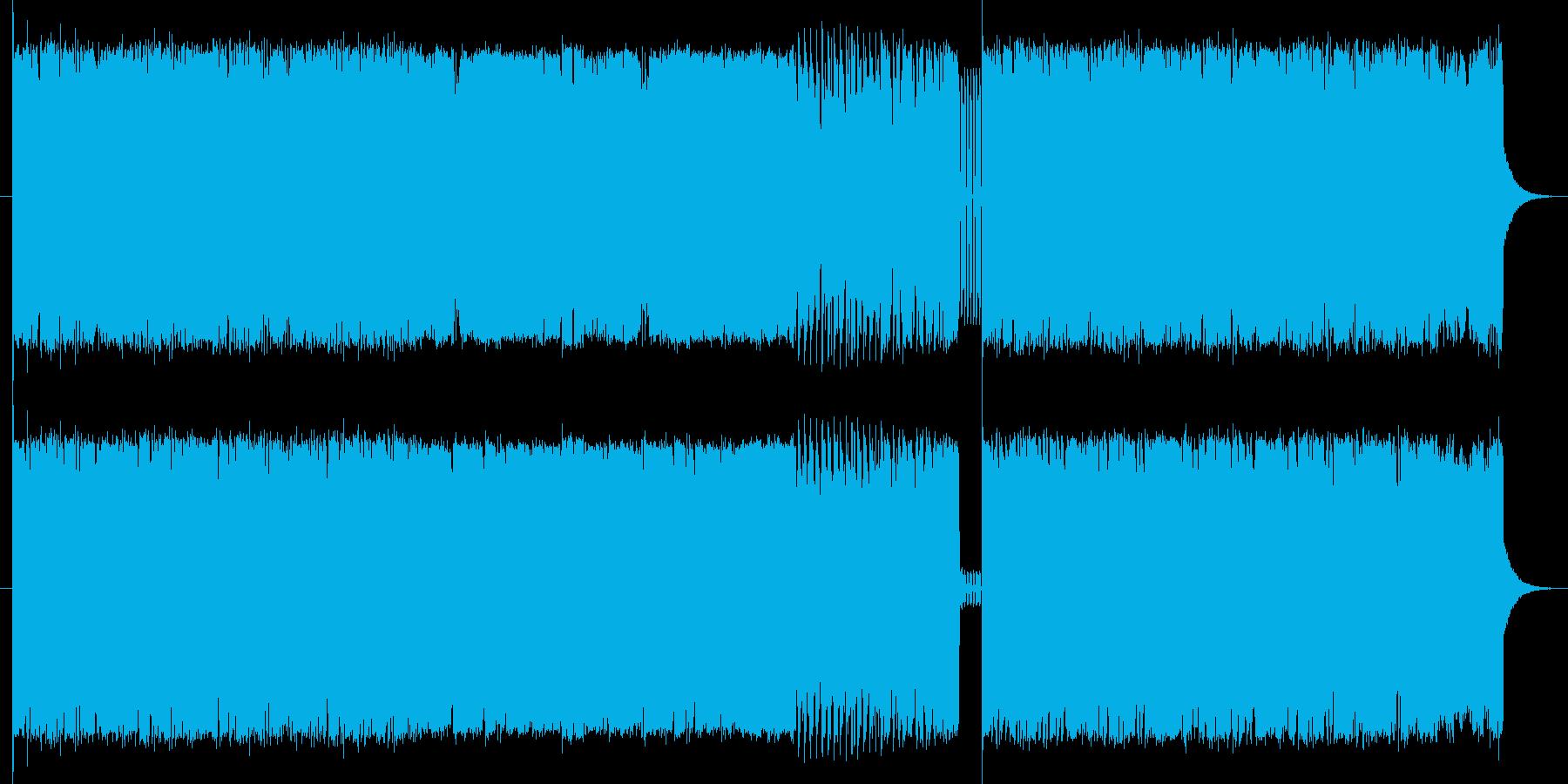 暗すぎない、スピード感溢れるロックの再生済みの波形
