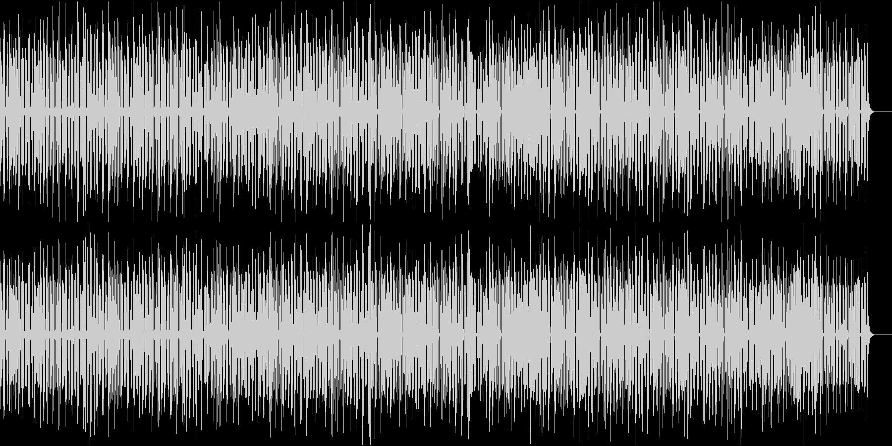 軽やかでポップなジャズの未再生の波形