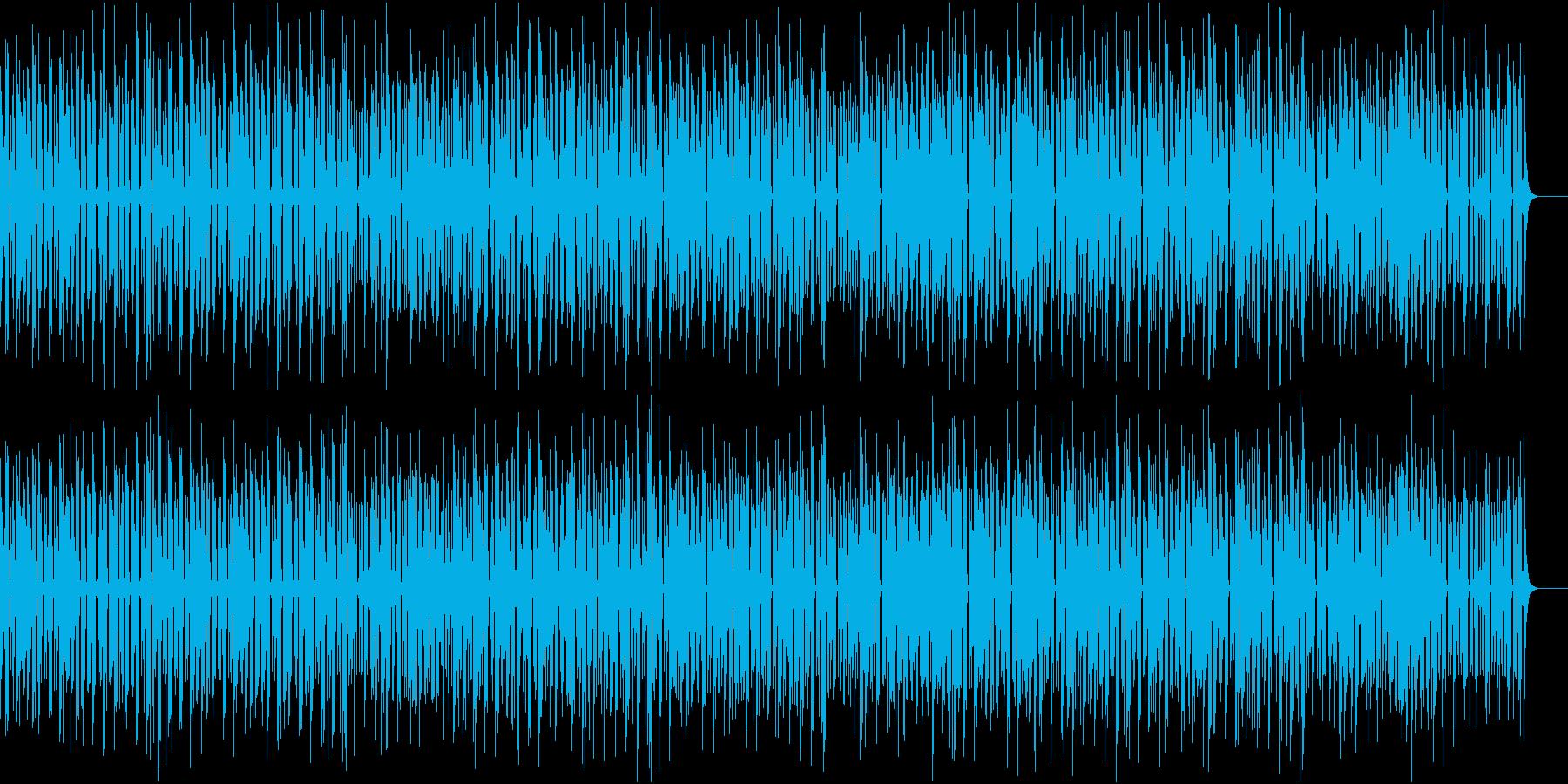 軽やかでポップなジャズの再生済みの波形