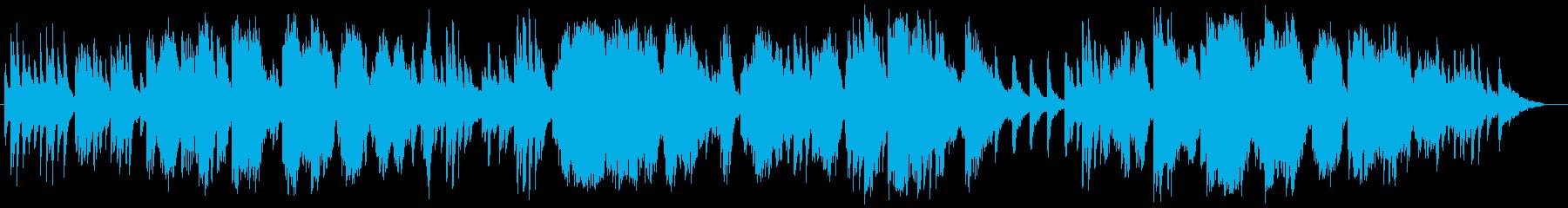 美しく爽やかな管弦楽器ピアノサウンドの再生済みの波形