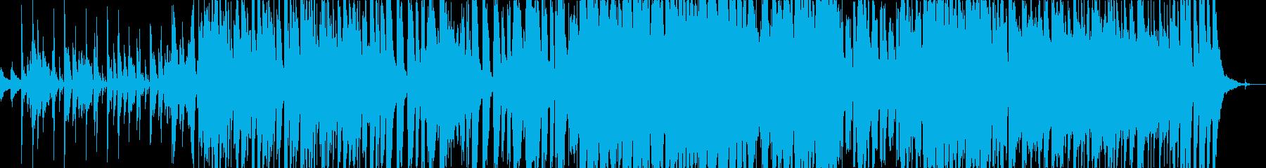 推理・謎解き系メインテーマの再生済みの波形