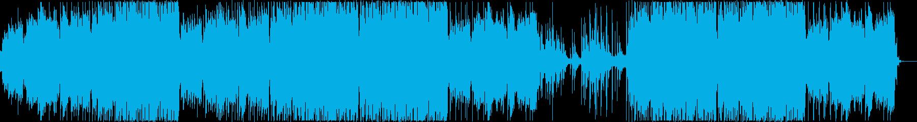 リラックスできるチル系ハウスの再生済みの波形