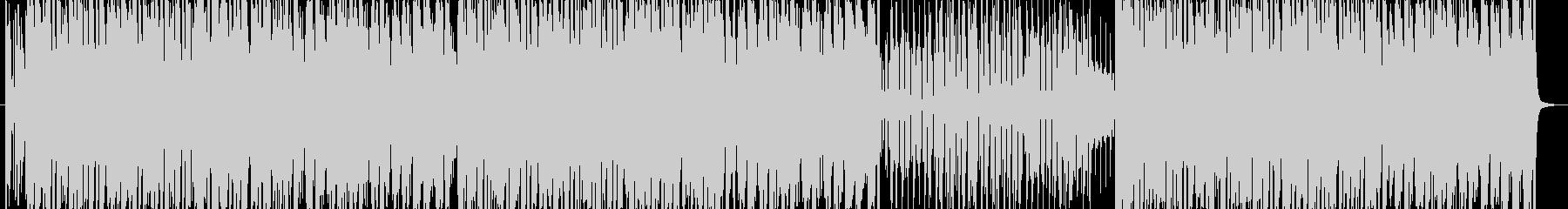 パチンコにありそうな明るいBGMの未再生の波形