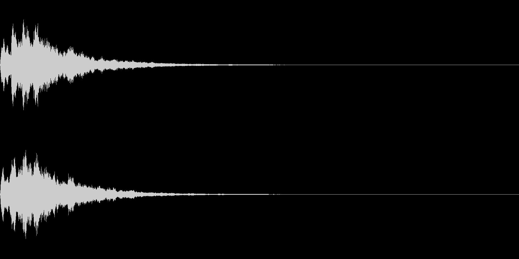ベル 05(キコキコーン)の未再生の波形