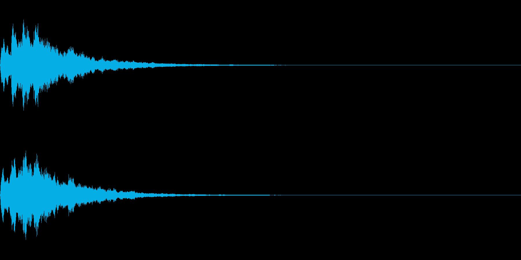 ベル 05(キコキコーン)の再生済みの波形