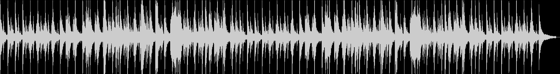 心安らぐジャズバラードピアノの未再生の波形