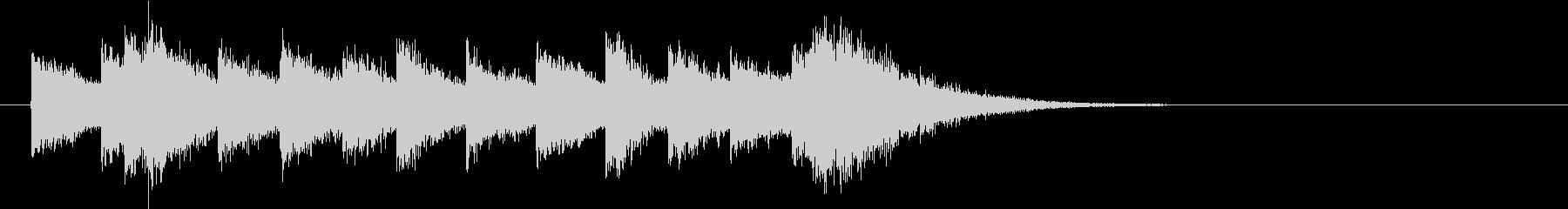 電車の発車・到着ジングル-06(5秒)の未再生の波形
