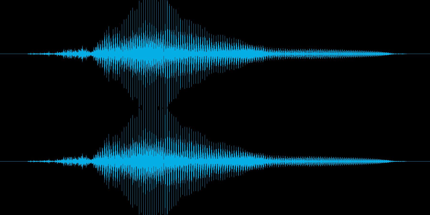 ちゃん!(子供)【終わりの合図など】の再生済みの波形