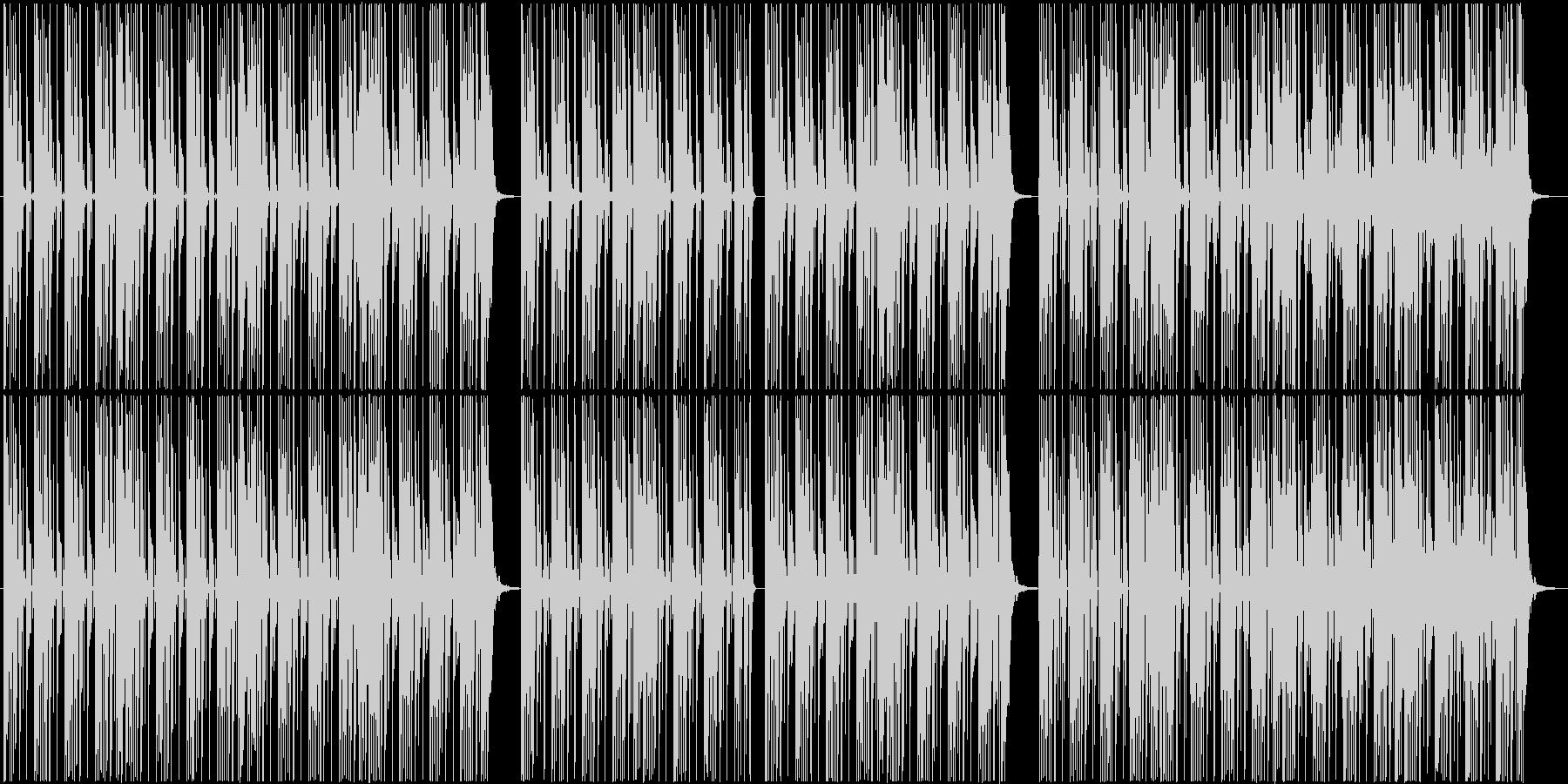ブルゾンちえみの35億のようなBGM2の未再生の波形