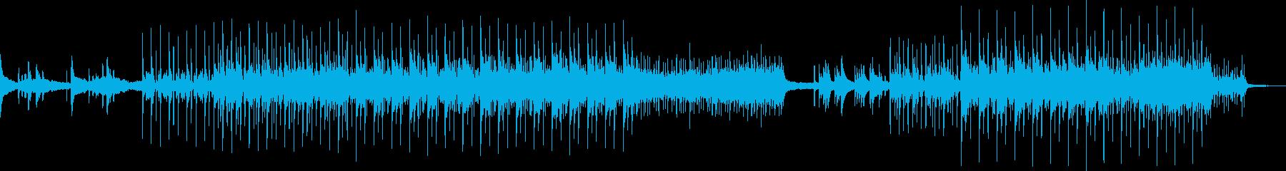 日本の情緒を感じさせるスローテンポな曲調の再生済みの波形