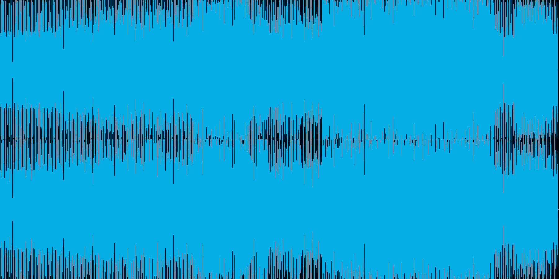 jazzyなハウスの再生済みの波形