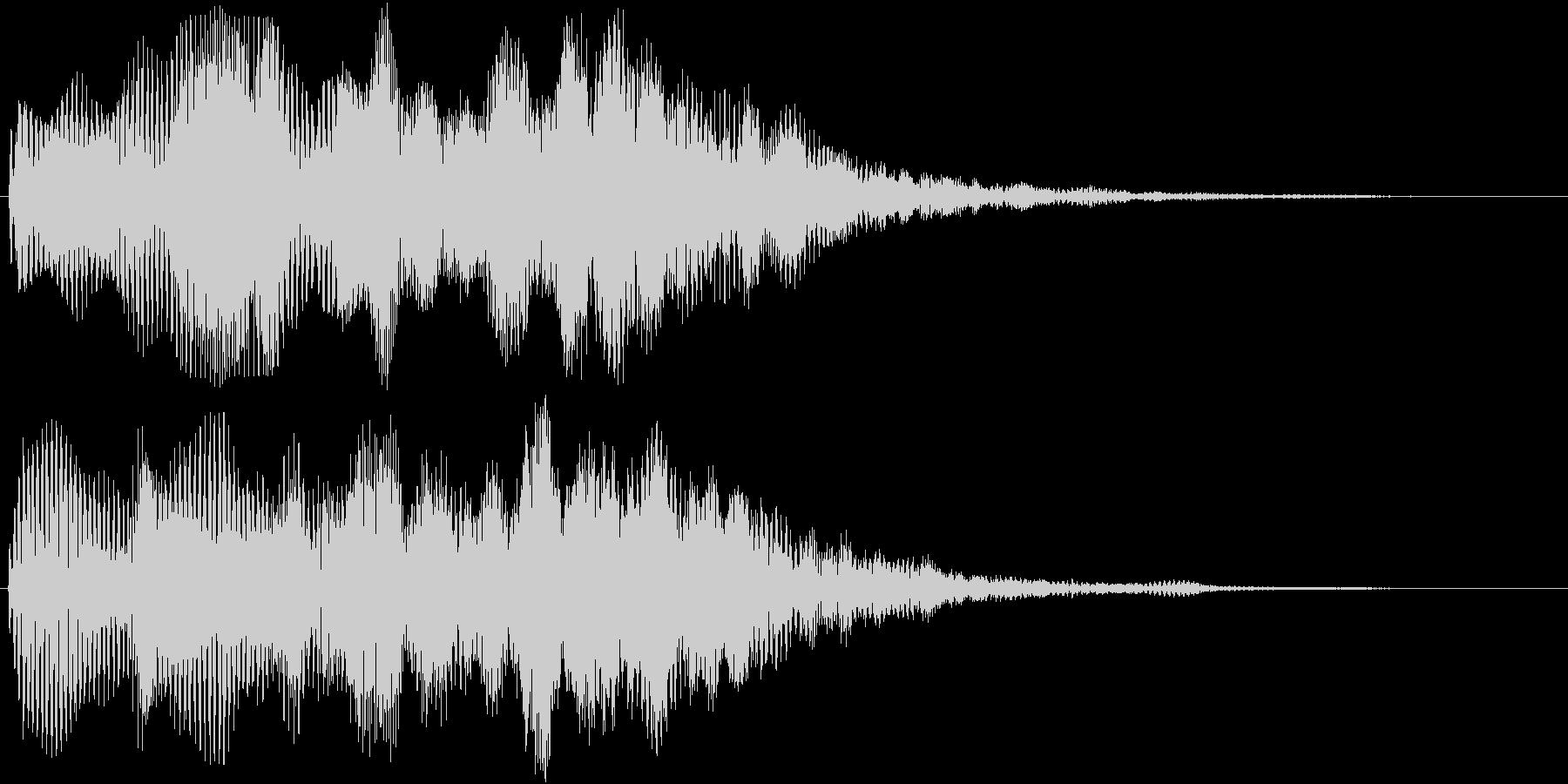 神秘的で優しい音ですの未再生の波形