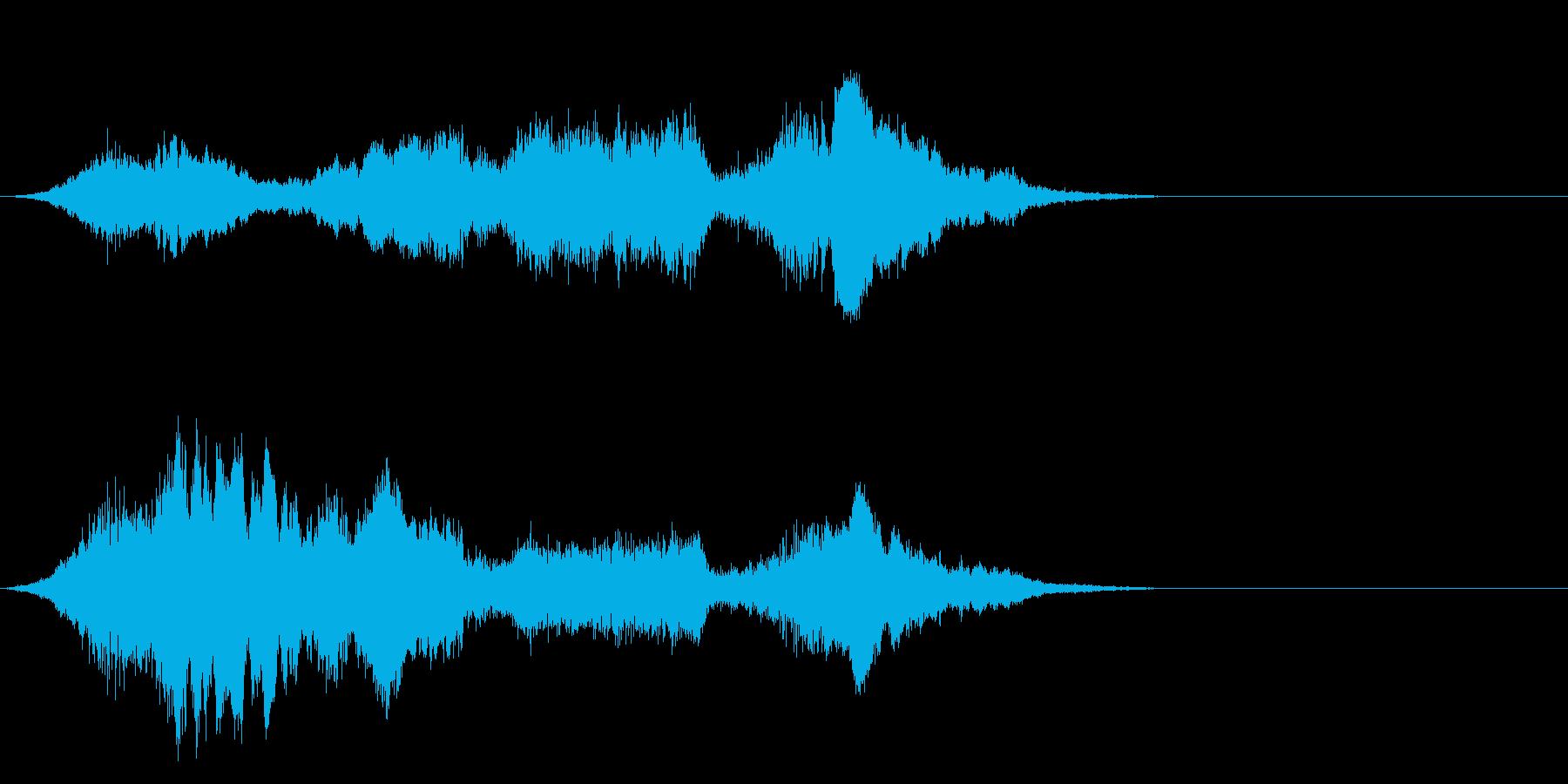 F1などのレース、エンジン音に最適21!の再生済みの波形
