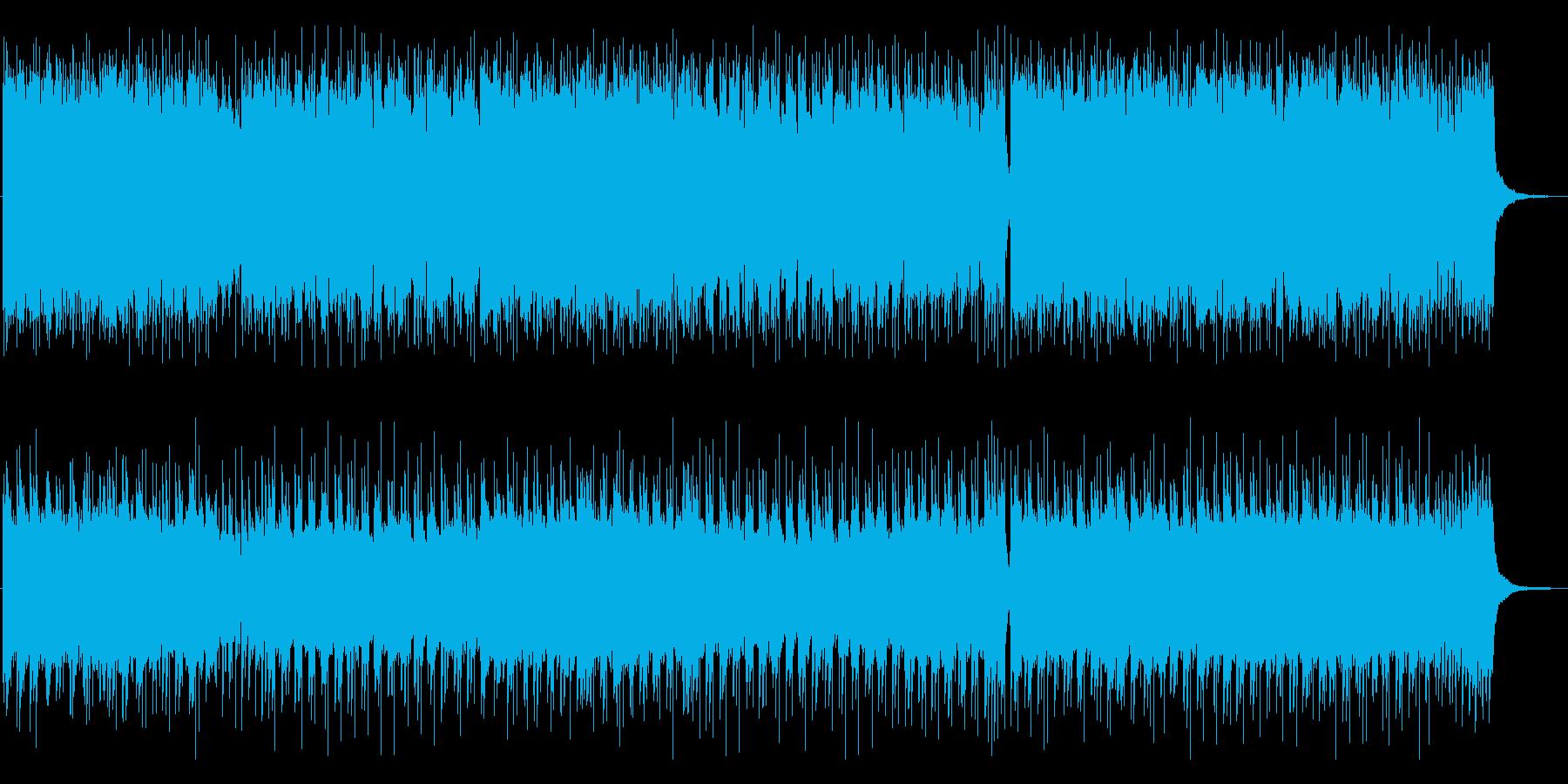 紹介動画 映像 CMに ポップロックの再生済みの波形
